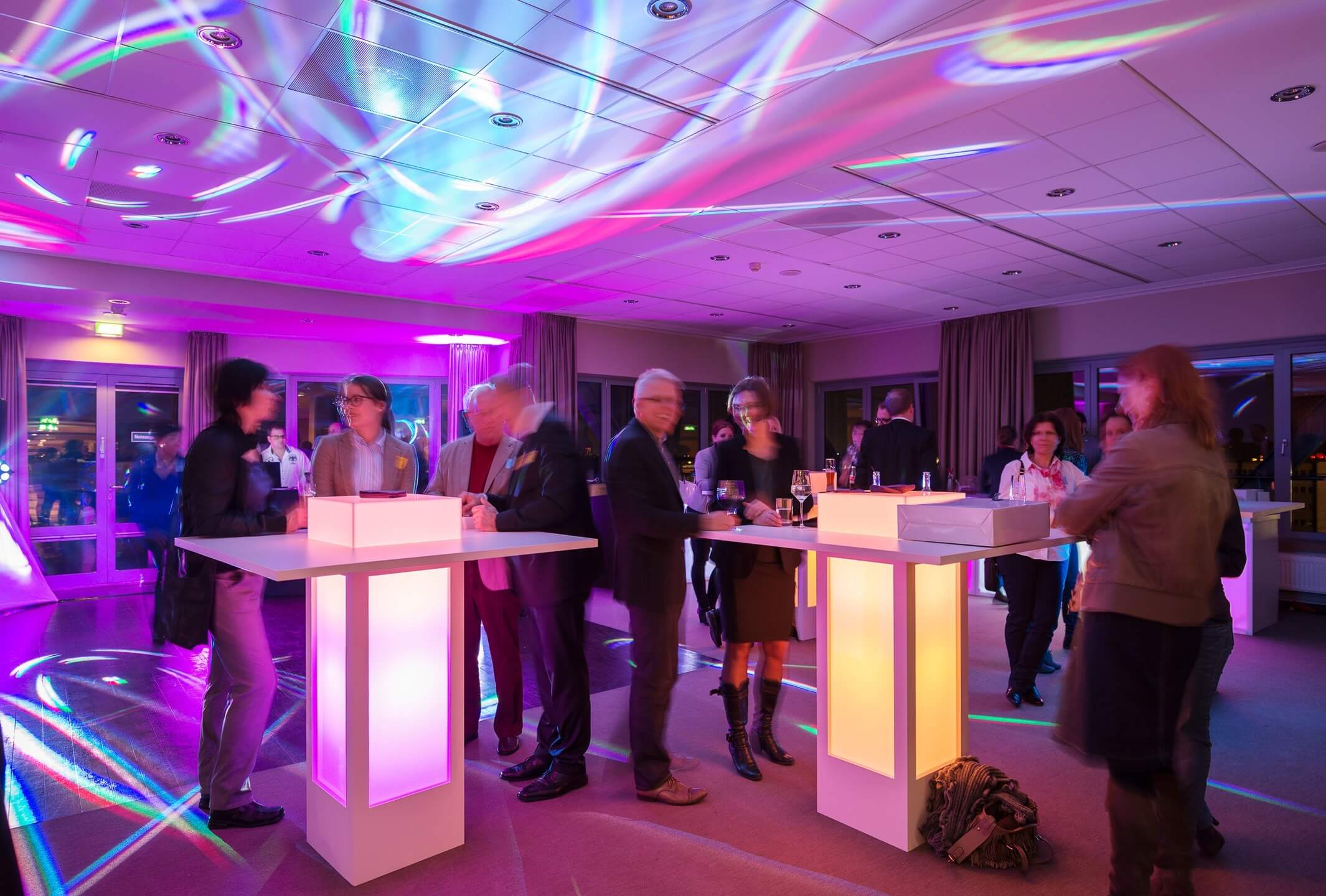 Event with dance floor | Function room Lilienthal in the ATLANTIC Hotel Airport Bremen