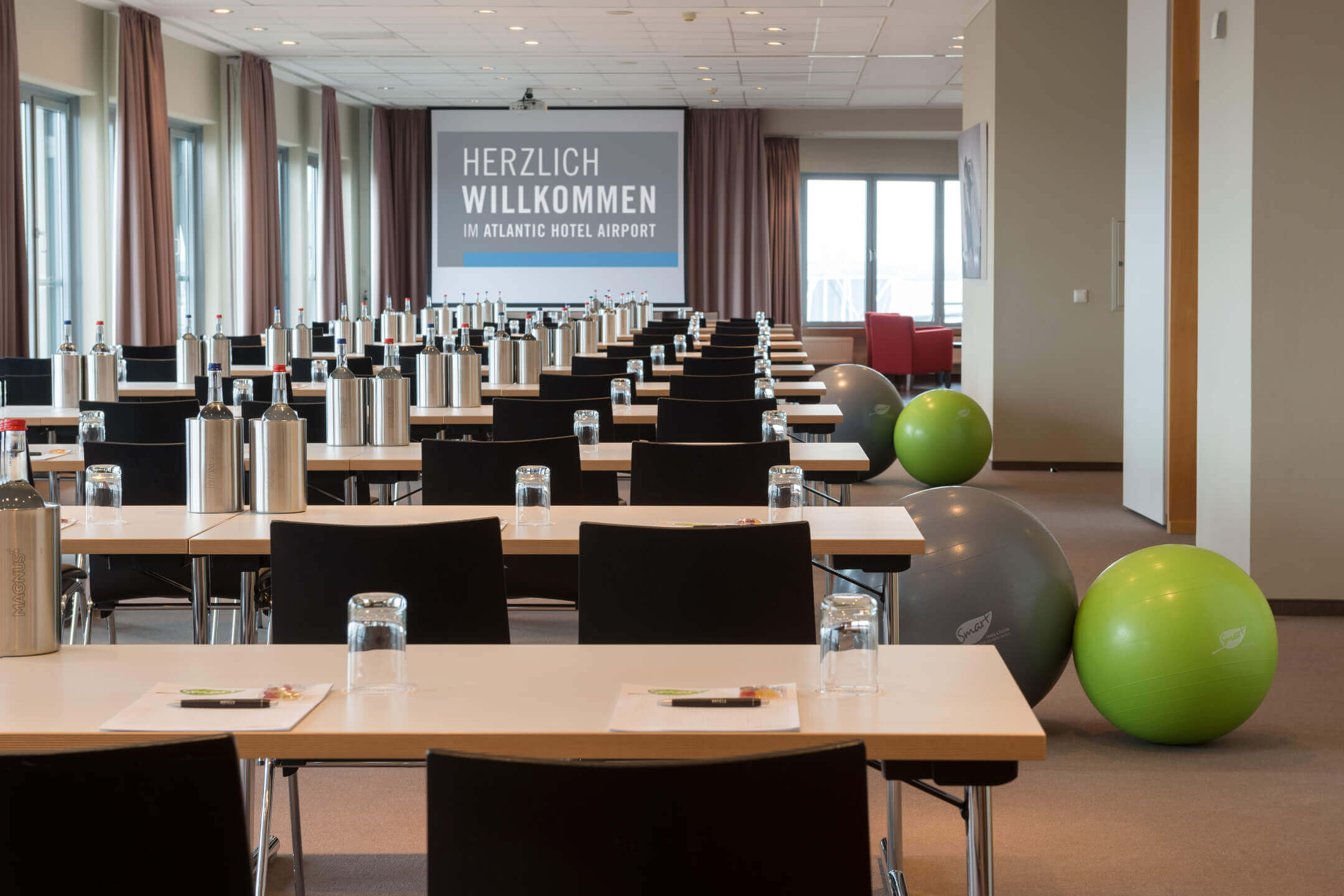 Function room Junkers and Lilienthal in the ATLANTIC Hotel Airport Bremen