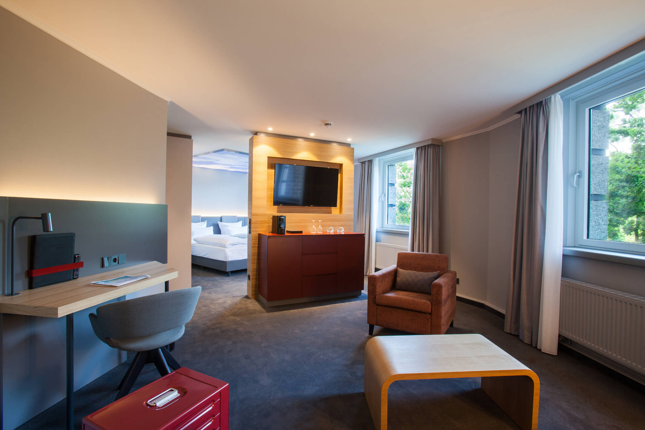 ATLANTIC Hotel Airport Bremen Suite Piccard