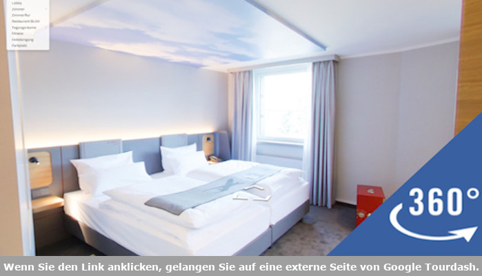 Virtual Tour ATLANTIC Hotel Airport Bremen
