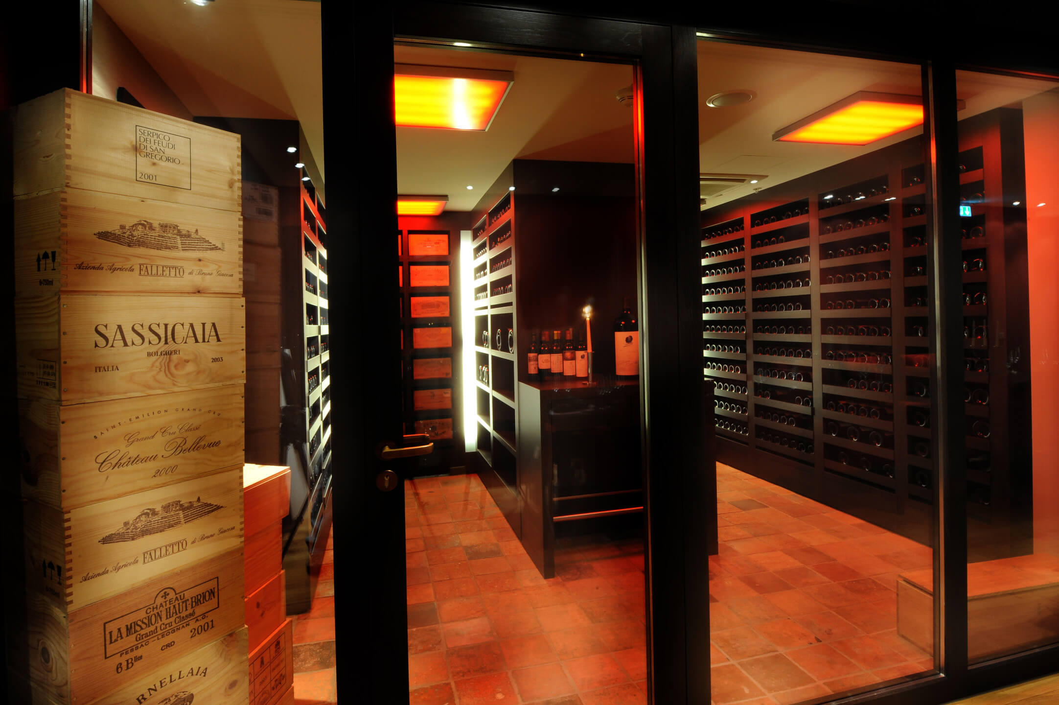 wine cellar of the ATLANTIC Grand Hotel Bremen
