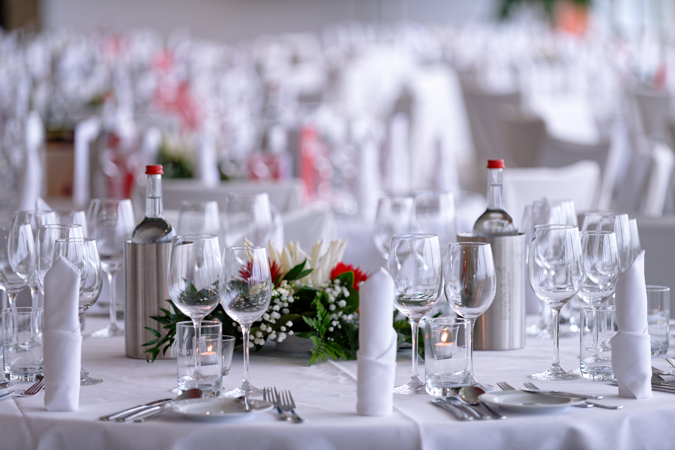 Festive table decoration | ATLANTIC Hotel Galopprennbahn Bremen