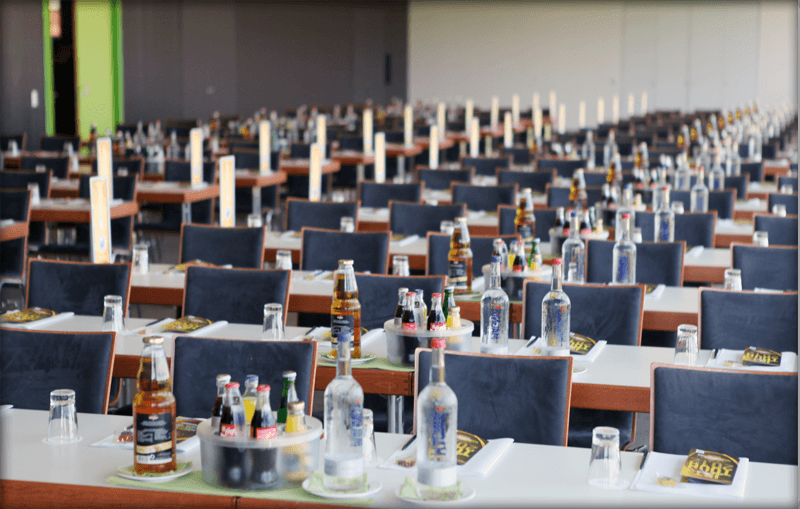 Parliament seating | ATLANTIC Hotel Galopprennbahn