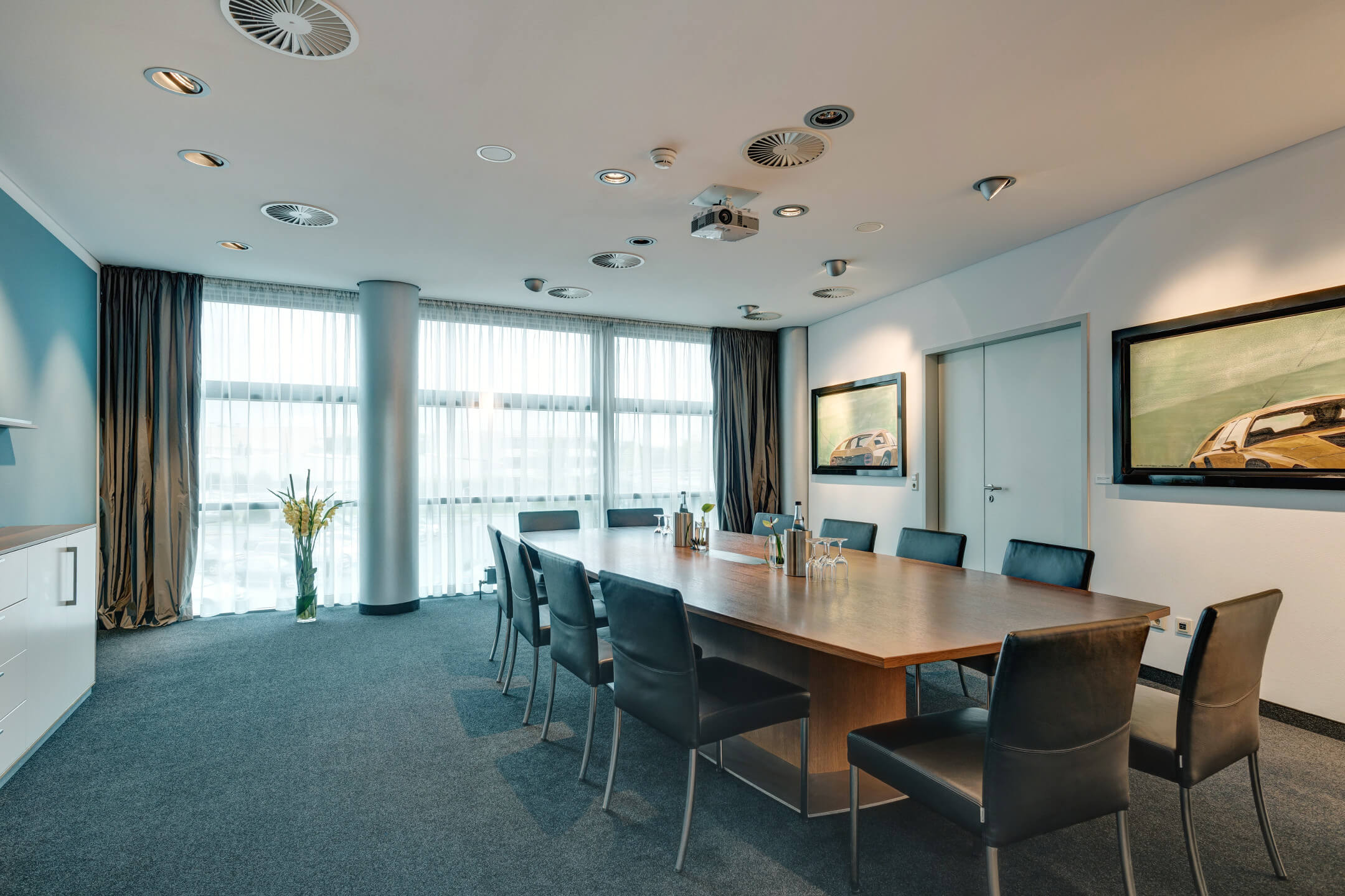 conference room on the first floor