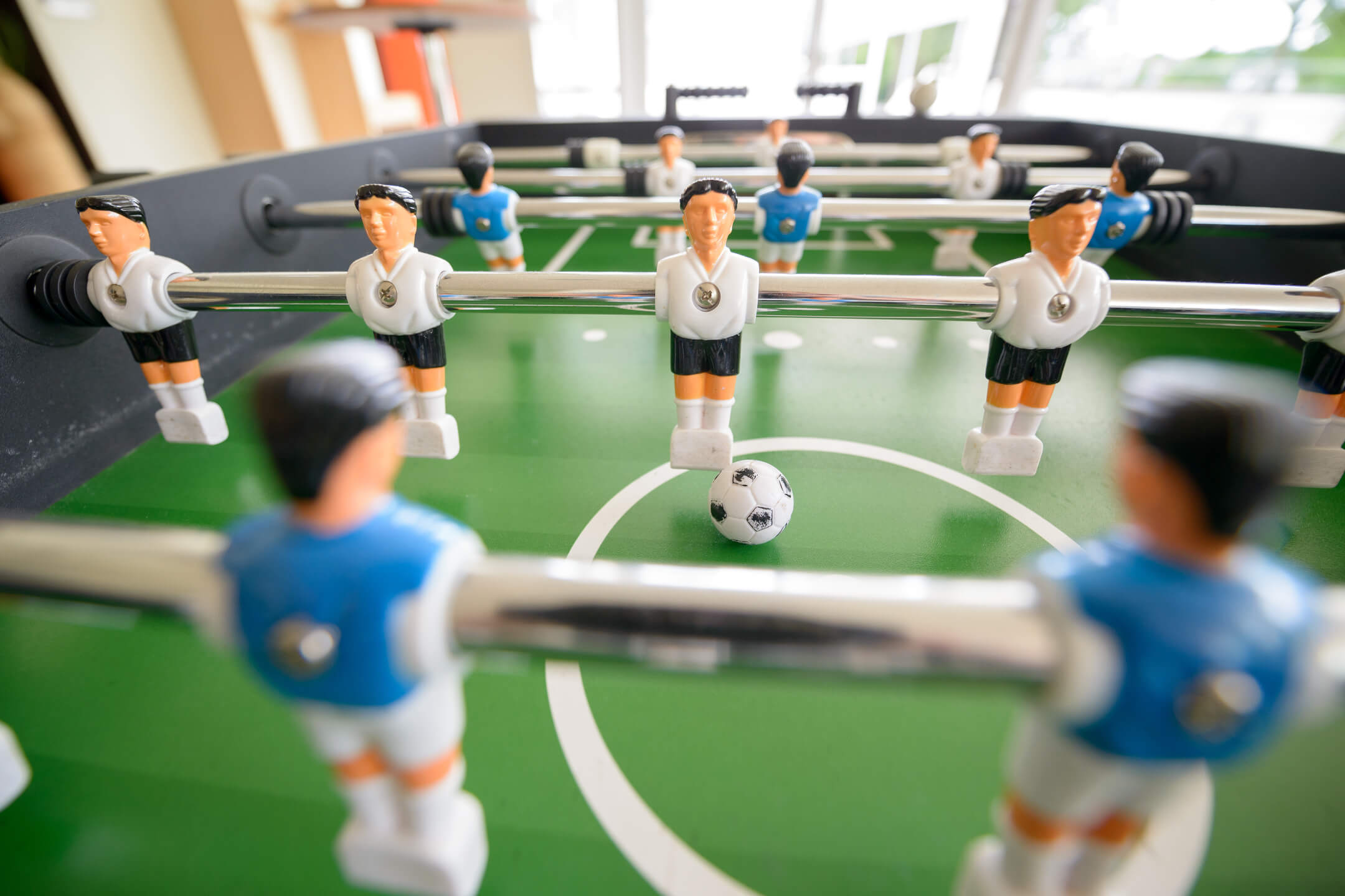 Table soccer im ATLANTIC Hotel Galopprennbahn