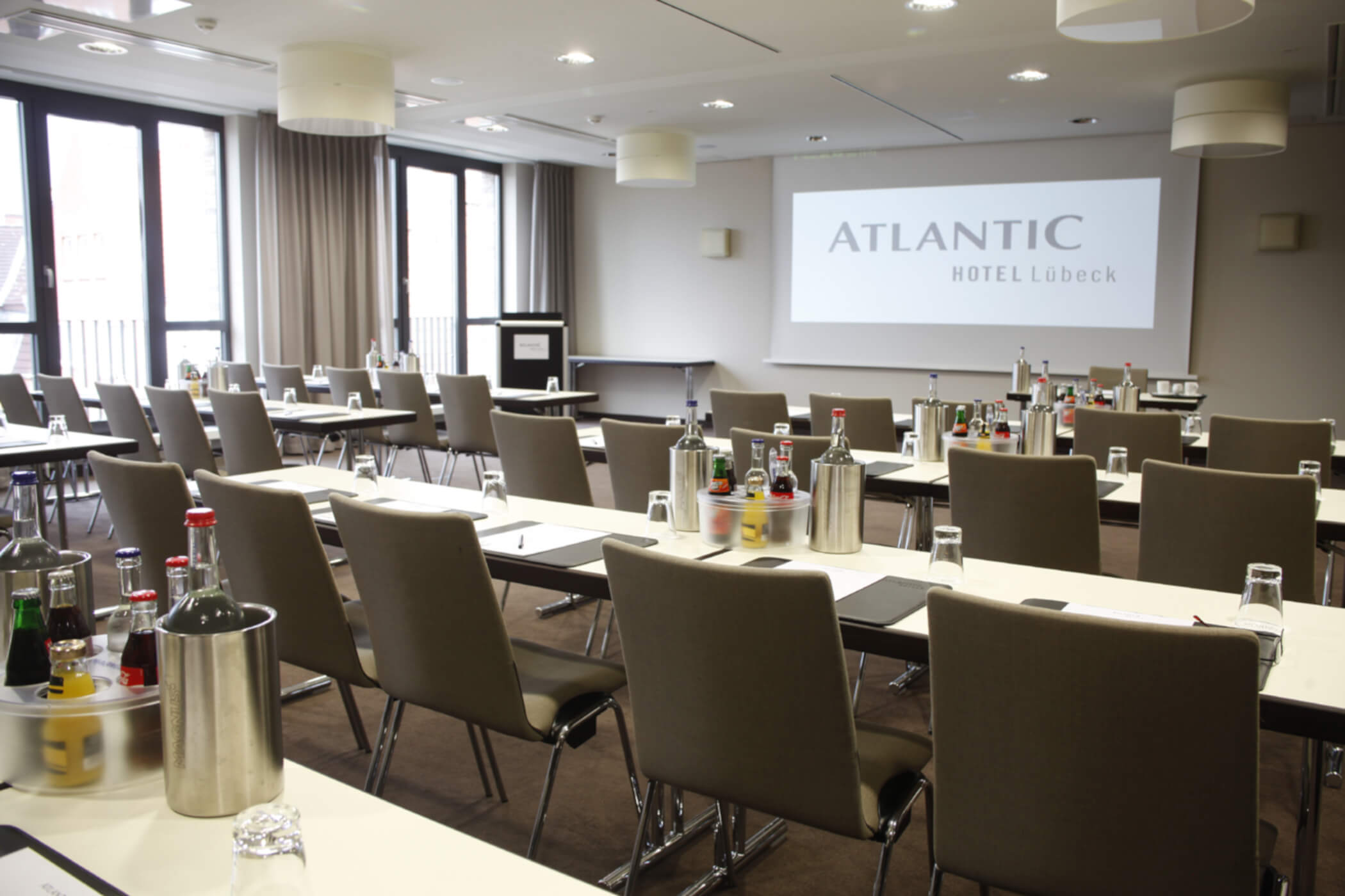 Function room conference 1 at ATLANTIC Hotel Lübeck