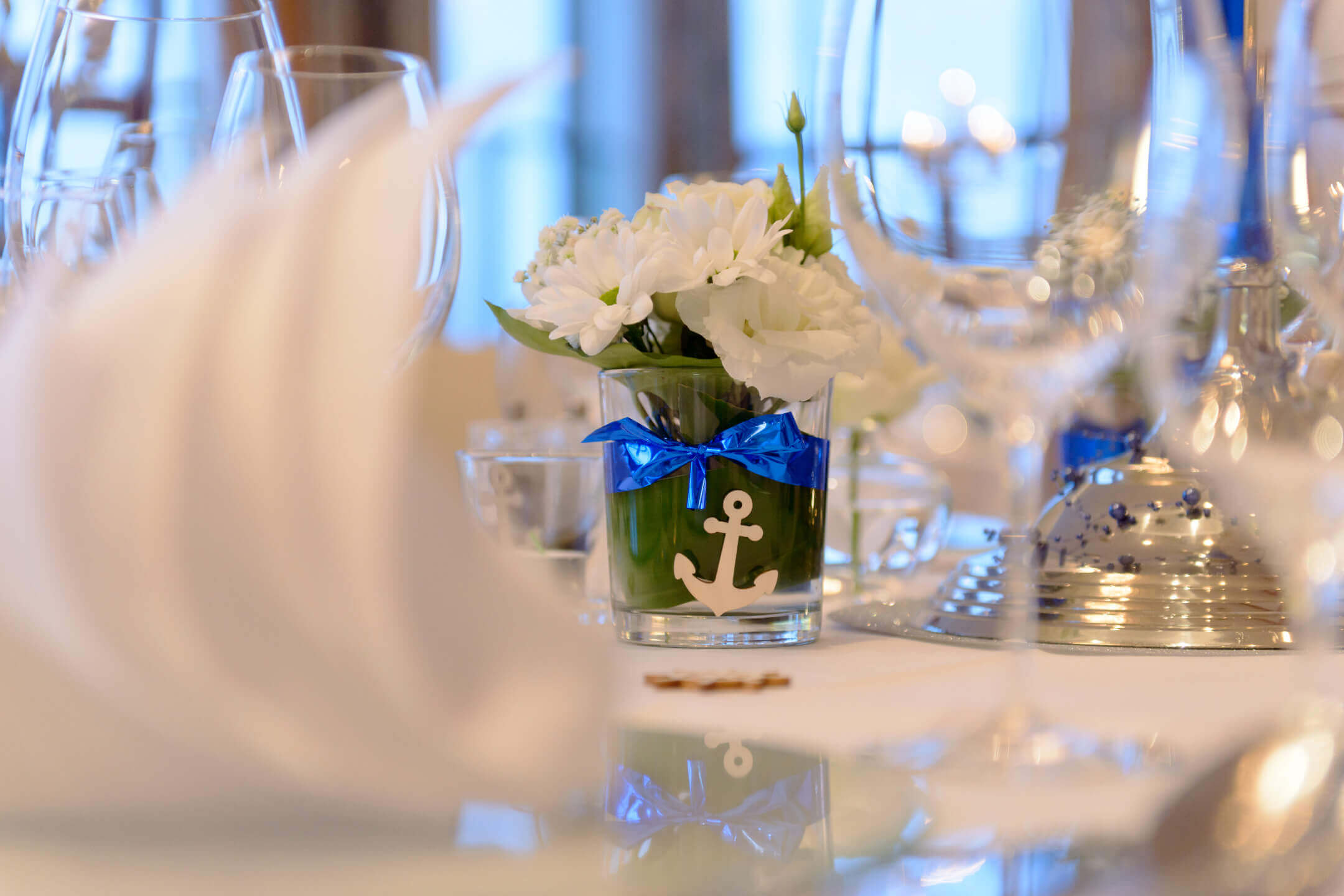 Banquet hall for celebrations | ATLANTIC Hotel Wilhelmshaven