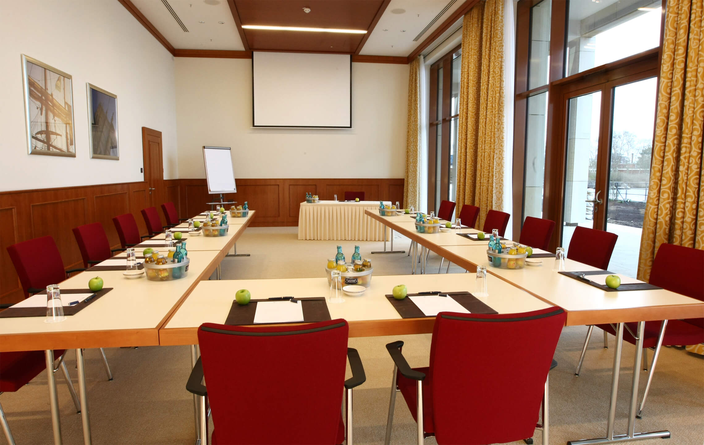 Function room for meetings and conferences | ATLANTIC Hotel Wilhelmshaven