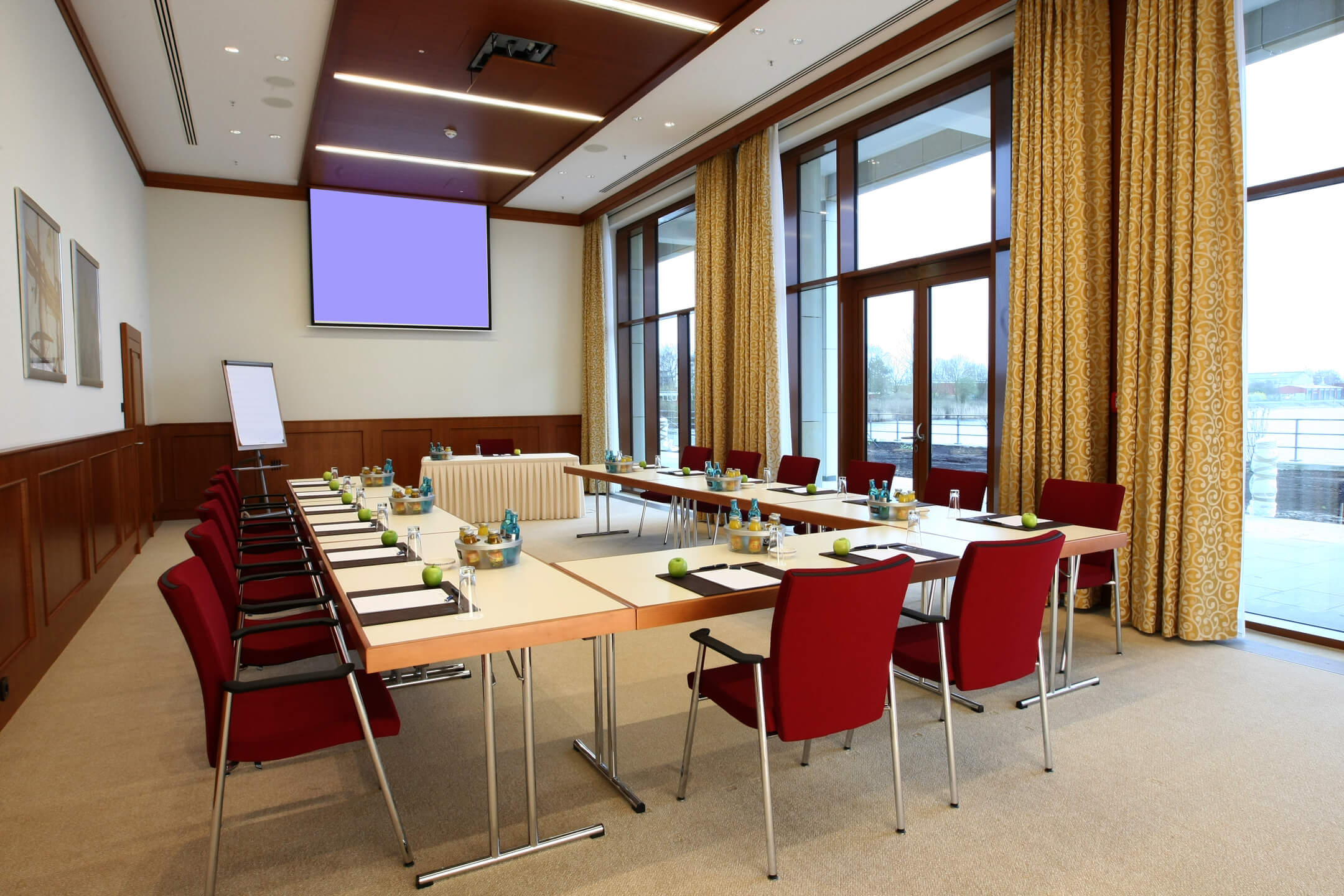 Meeting room at the ATLANTIC Hotel Wilhelmshaven