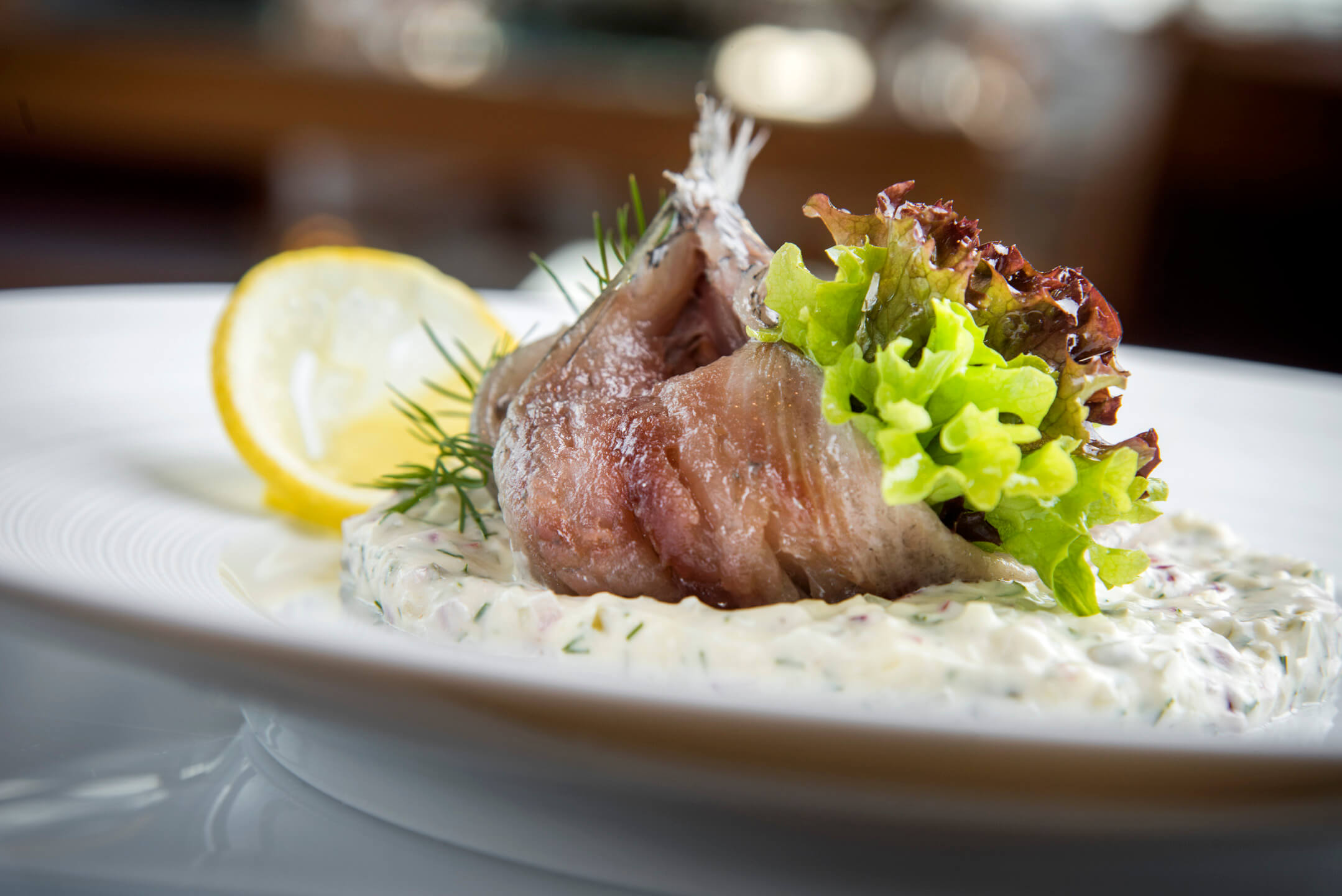 Fish dishes for meetings and events | ATLANTIC Hotel Wilhelmshaven