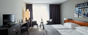 Double room in the ATLANTIC Hotel Vegesack in Bremen