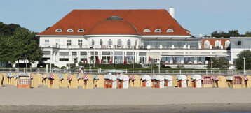 ATLANTIC Grand Hotel Travemünde | Aussicht vom Meer