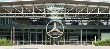 Restaurant Gottlieb Bremen in the Merceses costumer centre Bremen