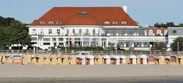 ATLANTIC Grand Hotel Travemünde – Perspektive vom Meer