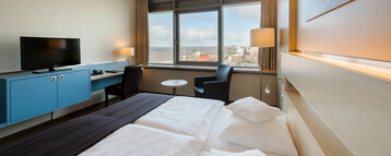 Superior Zimmer im ATLANTIC Hotel SAIL City im ATLANTIC Hotel in Bremerhaven